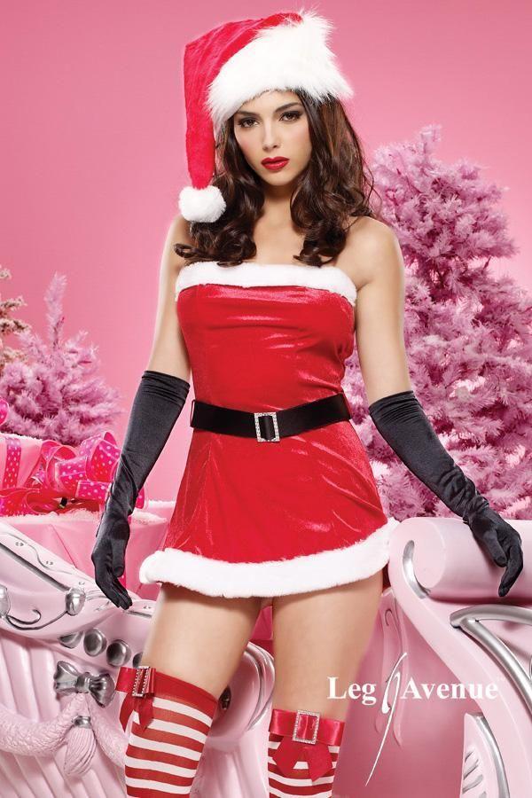 Miniabito da Christmas Girl sensuale e maliziosa. Quanto costa online?